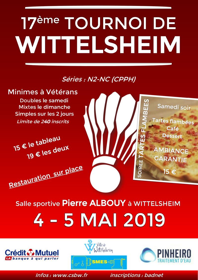 17ème tournoi de Wittelsheim