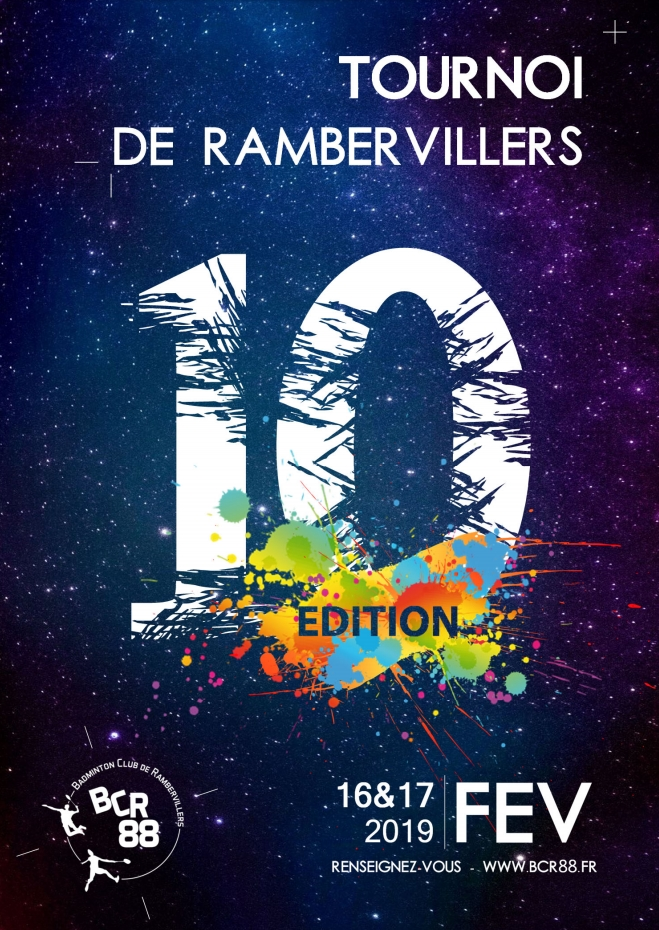 10ème Tournoi International de Rambervillers, 88