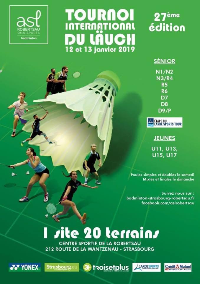 27ème édition du Tournoi du Läuch, Strasbourg 67