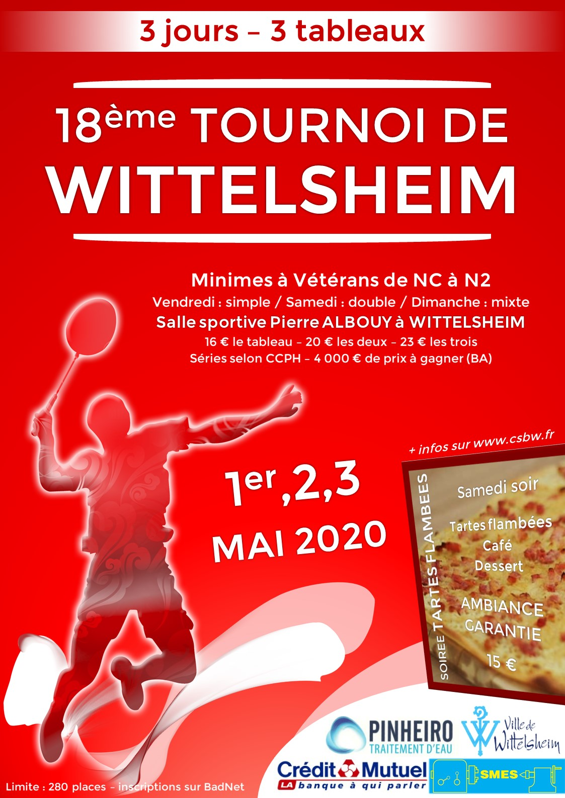 18ème Tournoi de Wittelsheim - ANNULÉ -